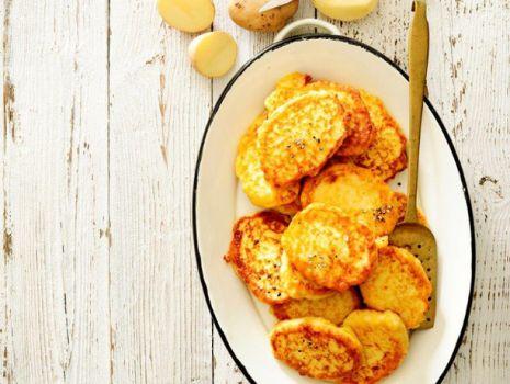 Przepis: Placki z gotowanych kartofli