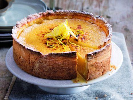 Przepis: Cytrynowy tort