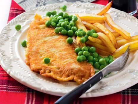 Przepis: Fish & chips