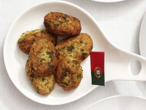 Przepis: Portugalskie Pasteis de Bacalhau - krokiety z dorsza