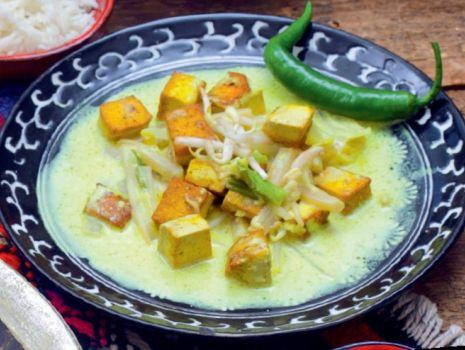 Przepis: Curry - Z Tofu