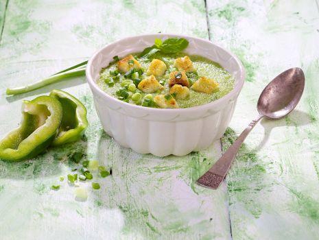 Przepis: Zielone gazpacho