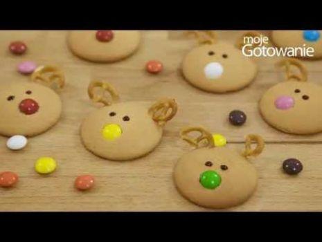 Jak zrobić ciasteczka w kształcie reniferów
