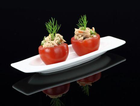Przepis: Pomidory z tuńczykiem
