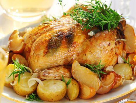 Przepis: Kurczak z szałwią
