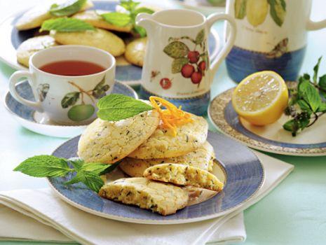 Przepis: Herbaciane ciasteczka