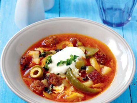 Przepis: Pikantna zupa z papryki
