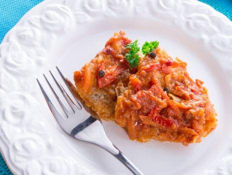 Przepis: Ryba po grecku