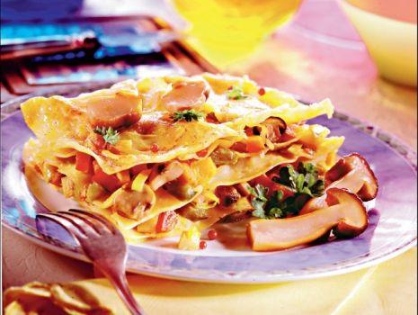 Przepis: Lasagne z grzybami