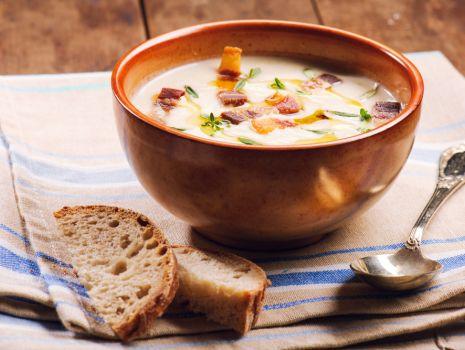 Przepis: Praska zupa z boczkiem
