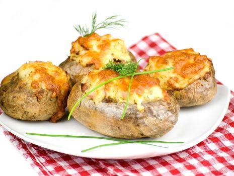 Przepis: Ziemniaki faszerowane kapustą