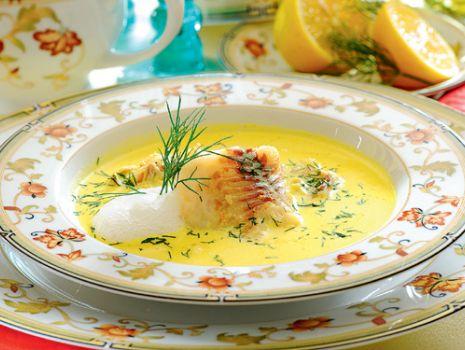 Przepis: Zupa rybna z nutą pomarańczy