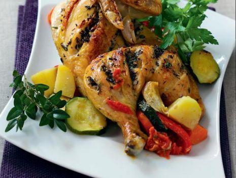 Przepis: Kurczak z warzywami