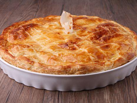 Przepis: Francuski placek mięsny