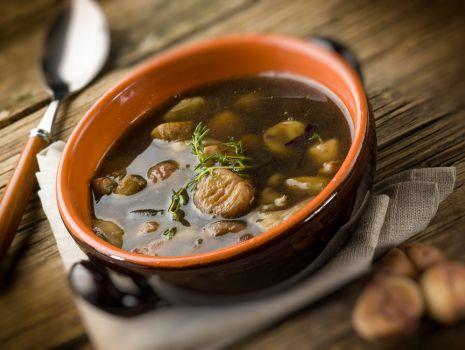 Przepis: Czysta zupa grzybowa
