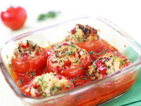 Przepis: Nadziewane pomidory