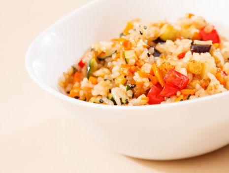 Przepis: Djuveč z ryżem i jagnięciną