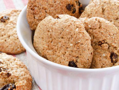 Przepis: Ciasteczka z otrębami