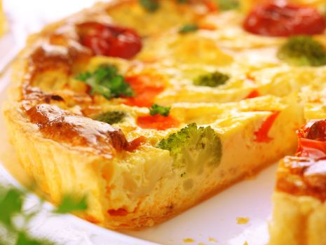 Przepis: Quiche (kisz) warzywny