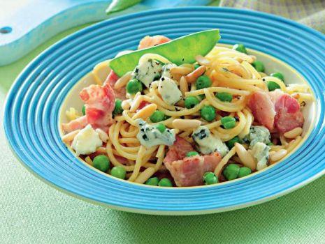 Przepis: Spaghetti z serem pleśniowym