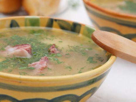 Przepis: Zupa kolorowa z boczkiem
