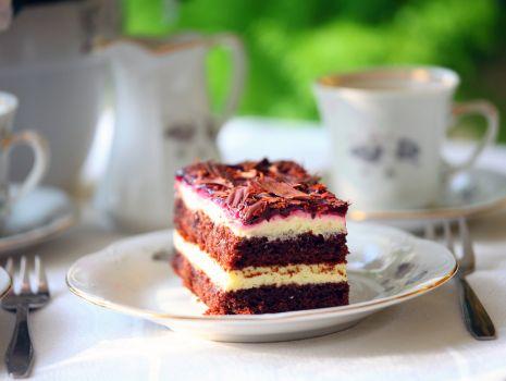 Przepis: Ciasto budyniowe