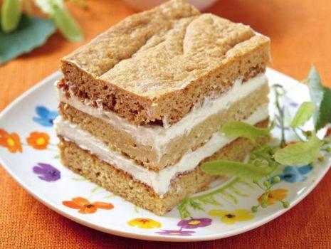 Przepis: Ciasto miodowe