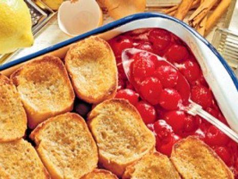 Przepis: Pudding z wiśniami