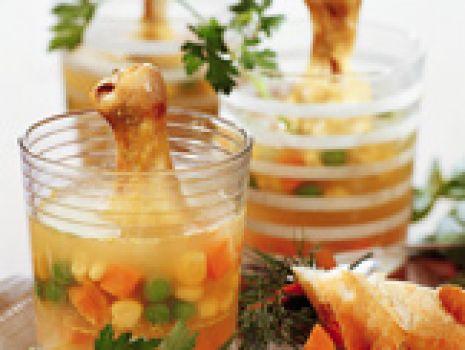 Przepis: Nóżki kurczaka w galarecie