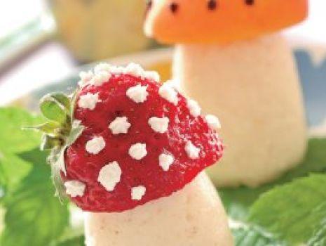 Przepis: Wesołe grzybki Tadka-Niejadka