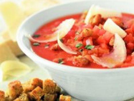 Przepis: Pomidorowa z parmezanem