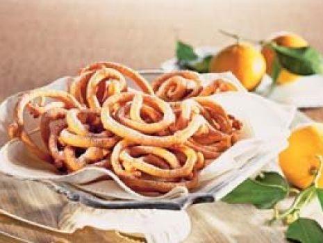 Przepis: Pomarańczowe spiralki