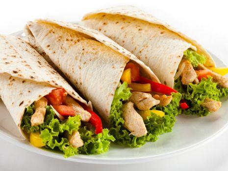 Przepis: Tortille z kurczakiem