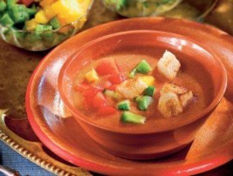 Przepis: Andaluzyjskie gazpacho