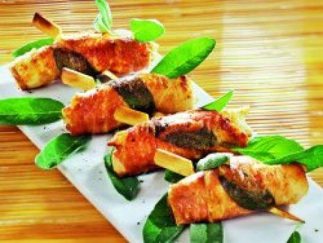 Przepis: Kurczak a la saltimbocca