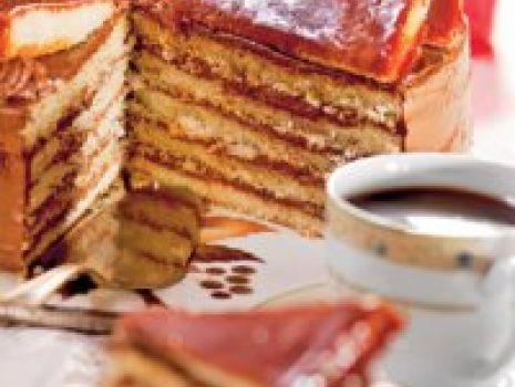 Przepis: Tort dobosza