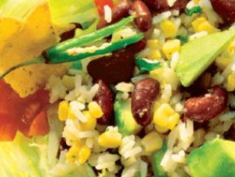 Przepis: Sałatka meksykańska z awokado