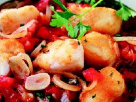 Przepis: Zupa rybna z czosnkiem