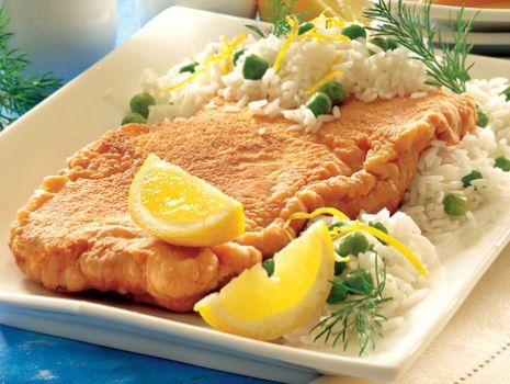 Przepis: Ryba w cieście z ryżem