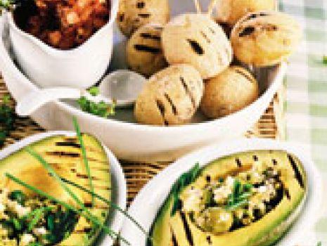 Przepis: Awokado z ziemniaczkami