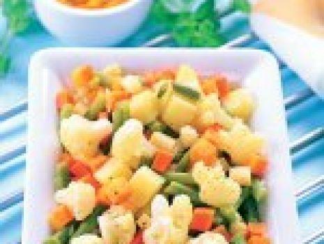 Przepis: Curry wielowarzywne