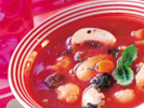 Przepis: Pomidorowa z warzywami