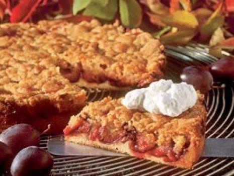 Przepis: Ciasto ze śliwkami i kruszonką
