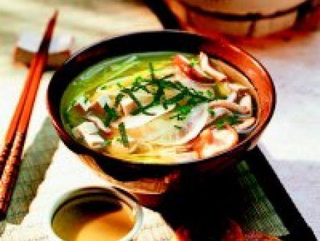 Przepis: Zupa miso