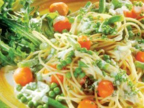 Przepis: Spaghetti z warzywami