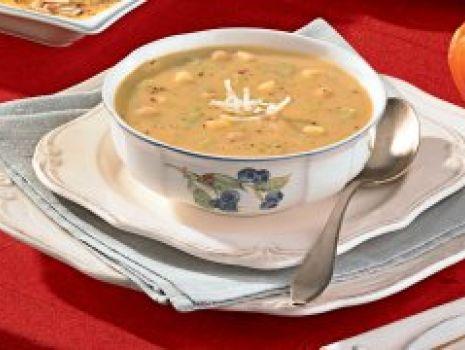 Przepis: Zupa z porów i ciecierzycy