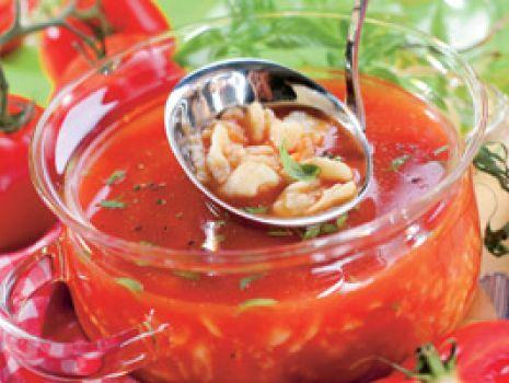 Przepis: Pomidorowa na ostro
