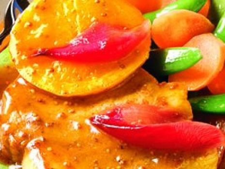 Przepis: Bitki wieprzowe z pomarańczą