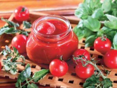 Przepis: Pomidory w przecierze
