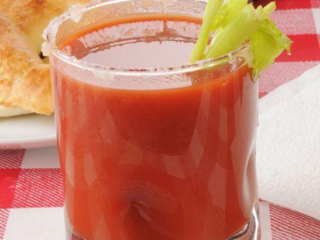 Przepis: Sok pomidorowy